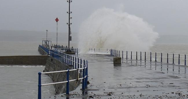 Storm Diana brings wind and rain to the UK